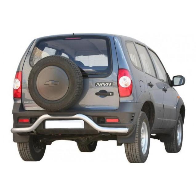 Задняя защита RS 03 на ВАЗ 2123 Chevrolet Niva RS