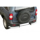 Задняя защита RS 06 на ВАЗ 2123 Chevrolet Niva RS