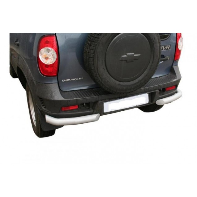 Задняя защита RS 07 на ВАЗ 2123 Chevrolet Niva RS