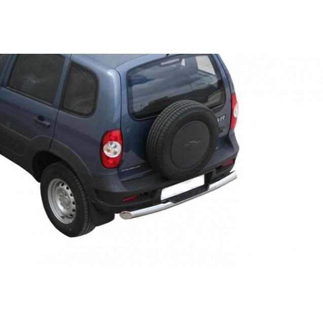 Задняя защита RS 08(ss) на ВАЗ 2123 Chevrolet Niva
