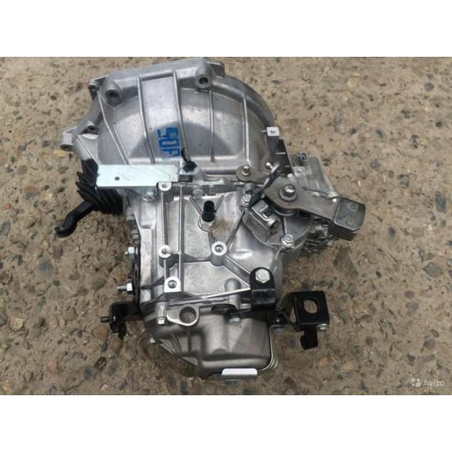 Коробка переключения передач (КПП) для LADA Гранта 2181 с тросовым приводом (стартер крепится на 3 шпильки