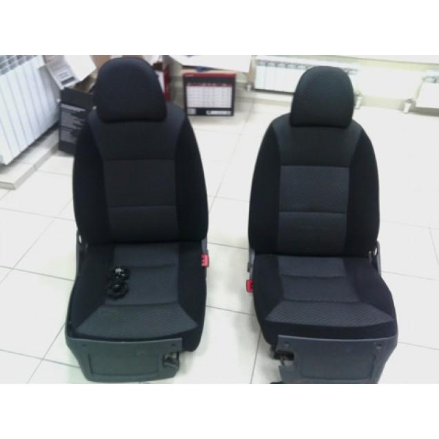 Обивка на сиденья ВАЗ 21724 Приора 2 (Искринка)