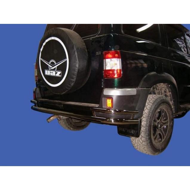 Защита заднего бампера УАЗ Патриот(труба)