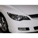 Реснички на фары Honda Civic 4d var№1