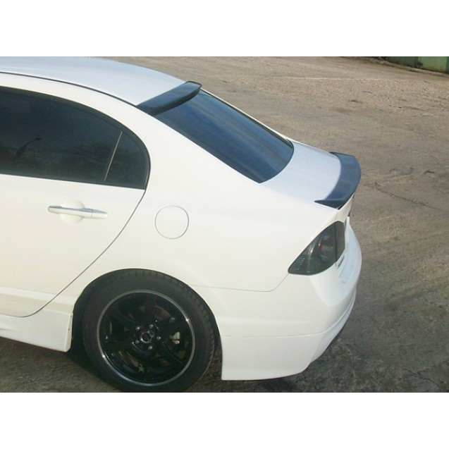 "Спойлер на багажник ""мини"" Honda Civic 4d"