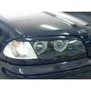 Реснички на фары BMW 3 E46 нижние