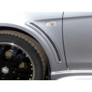Накладки на крылья жабры EVO Lancer X
